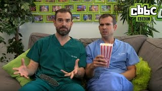 Download Dr Chris and Dr Xand watch Operation Ouch - CBBC Video