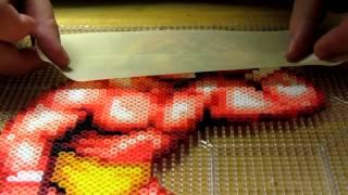 Download Perler bead masking tape method Part 1 Video
