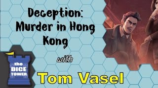 Download Deception: Murder in Hong Kong Review - with Tom Vasel Video