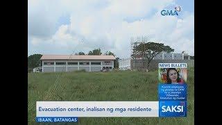 Download Saksi: Evacuation center, inalisan ng mga residente Video