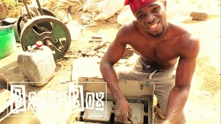 Download Crazy: How to make Bricks in Nigeria Video