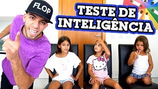 Download TESTANDO A INTELIGÊNCIA DE CRIANÇAS!! Video