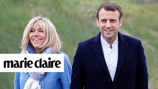Download Story Behind French President-elect Emmanuel Macron & Brigitte Trogneux's Marriage | Marie Claire Video