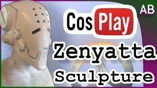 Download Zenyatta Mask Cosplay Sculpt - Full Head Mask Overwatch Helmet Tutorial Video