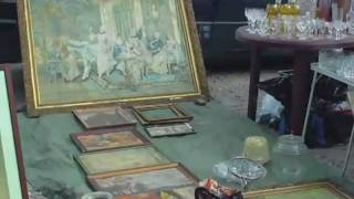 Download Warsaw Poland - A Tour Of The Antique Market in Kolo, Warsaw Poland. Video