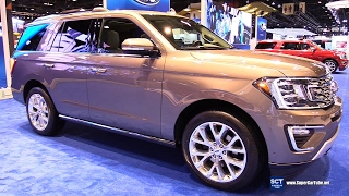 Download 2018 Ford Expedition Limited - Exterior, Interior Walkaround - Debut at 2017 Chicago Auto Show Video