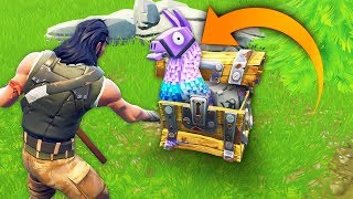 Download HE FOUND LLAMA INSIDE A CHEST..?! | Fortnite Funny and Best Moments Ep.112 Fortnite Battle Royale Video