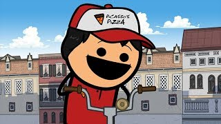 Download Pizza Delivery - Cyanide & Happiness Shorts Video