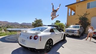 Download FLIPPING OVER MY GTR! Video