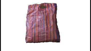 Download اخطر فكرة ممكن تعمليها بحقيبة تسوق ممزقة/Best use of waste plastic   reuse plastic bag  zaha diy Video