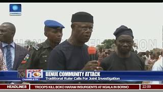 Download Benue Victims Seek Joint Military/Civilian Investigative Panel Video