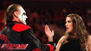Download Sting kicks off Raw for the first time ever: Raw, March 23, 2015 Video