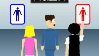 Download Toylet Story: when toilet signs toy around Video