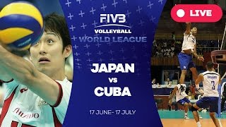 Download Japan v Cuba - Group 2: 2016 FIVB Volleyball World League Video