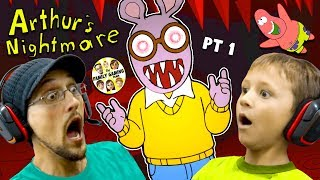 Download ESCAPE the CRAZY CARTOON! Night 1 & 2 (FGTEEV vs. Arthur the Aardvark #1) Video