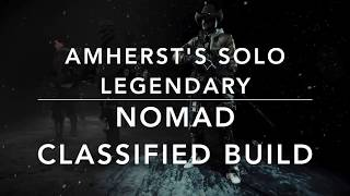 Download The Division 1.8.1 - AMERST's APPARTEMENTE SOLO LEGENDARY - NOMAD BUILD (not skill ;-)) Video