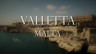 Download Valletta Malta: Arrival in Port and Day in City Video