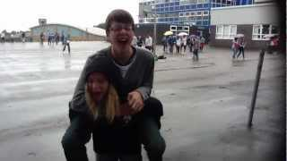 Download Nicky gave Nathan a piggy back Video
