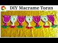 Download Easy Macrame Toran Door Hanging tutorial Video