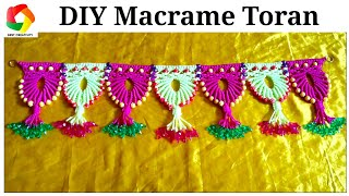 Beautiful Door Hanging Toran From Old Bangles Diy Door Toran