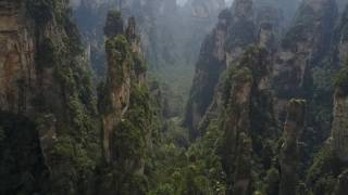 Download Zhangjiajie Drone Footage 1080p Avatar Mountains Video