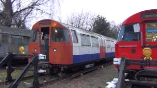 Download (HD) Old London Underground Stock Seen At Acton Works Video