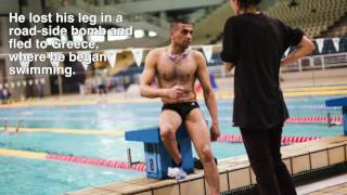 Download Meet refugee athlete Ibrahim Al-Hussein Video