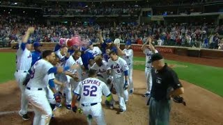 Download 8/29/16: Cespedes lifts Mets with walk-off homer Video