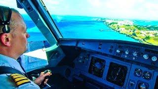 Download Windy landing at Bermuda (Air Canada A319) Video