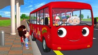 Download детские песенки   Колёса у автобуса   мультфильмы для детей   Литл Бэйби Бум Video
