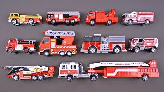 Download Best Learning Fire Trucks, Fire Engines for Kids - #1 Hot Wheels, Matchbox, Tomica トミカ Toy Cars Video