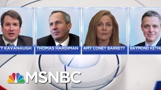 Download Anthony Kennedy Is Out, Donald Trump's Potential SCOTUS Picks Are In | Hallie Jackson | MSNBC Video