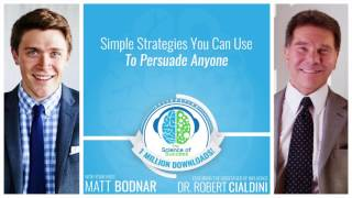 Download Simple Strategies You Can Use To Persuade Anyone with The Godfather of Influence Dr. Robert Cialdini Video