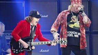 Download AC/DC and Axl Rose - BACK IN BLACK HD - Ceres Park, Aarhus, Denmark, June 12, 2016 Video