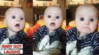 Download 10 Minutes of Surprised Baby Reactions | Try Not To Awww Challenge Video