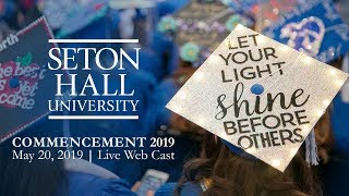 Download Seton Hall University Commencement 2019 Video