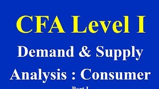 Download Demand and Supply Analysis : Consumer Demand Part I Video