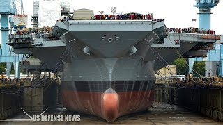 Download U.S. Navy new 21st century $12,8 billion Nuclear-Powered Supercarrier Video