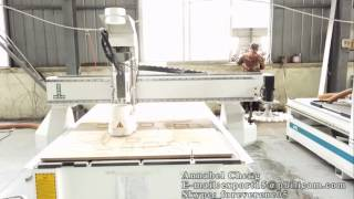 Download PHILICAM New Design 1325 Automatic Tool Changer CNC Router Machine Working Test Video