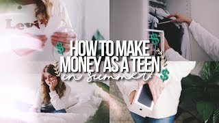 Download HOW TO MAKE MONEY AS A TEEN IN SUMMER 2017! Video