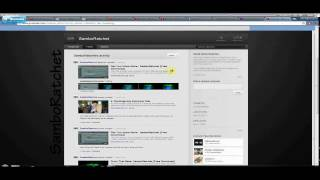 Download New Youtube Layout 2011/2012 Custom Background Tutorial [Free Templates in Description] Video