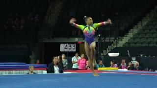 Download Sydney Barros - Floor Exercise - 2017 U.S. Classic - Junior Competition Video