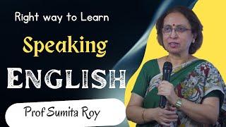Download Speaking English by Prof Sumita Roy at IMPACT SEPT 2015 Video