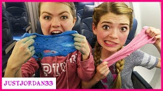 Download Making Slime On A Plane - What A Mess! / JustJordan33 Video