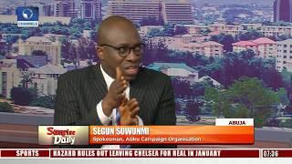 Download Analysts Disagree On Obasanjo's Endorsement Of Atiku Pt.1 | Sunrise Daily | Video