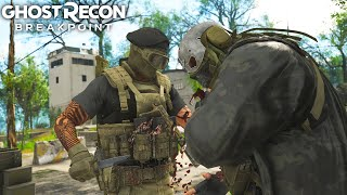 Download Ghost Recon Breakpoint STEALTH ELIMINATING THE HARDEST WOLF CAMP! Ghost Recon Breakpoint Free Roam Video