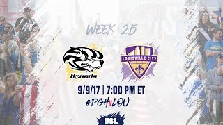 Download USL LIVE - Pittsburgh Riverhounds vs Louisville City FC 9/9/17 Video