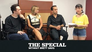 Download BTS: Special intern Maddy interviews The Vandelles | The Special Without Brett Davis Video