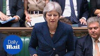 Download Theresa May addresses David Davis and Boris Johnson resignations Video