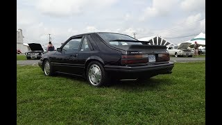 Download 1985 Ford Mustang SVO in Black & Turbo Engine Sound on My Car Story with Lou Costabile Video